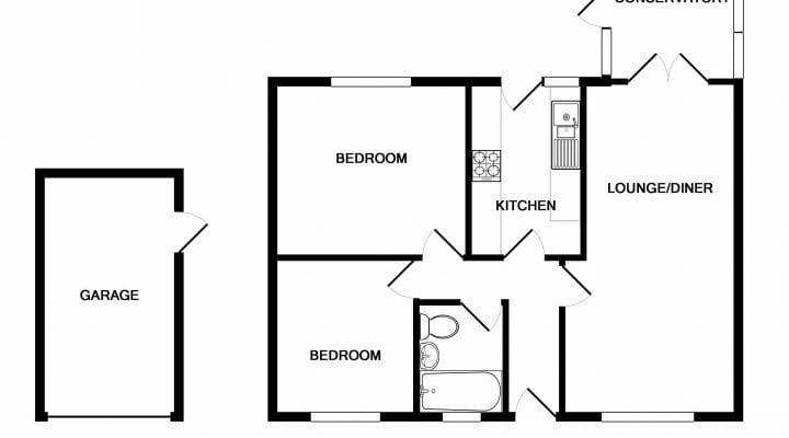 Barton Hamlet Great Barton IP31 2PP floorplan 1
