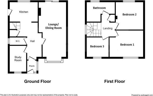 Millfields, Haughley, IP14 3PU  floorplan 1