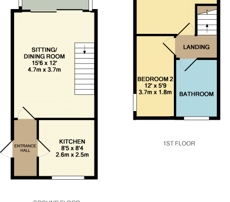 Lindsey Way, Stowmarket, Suffolk, IP14 2RD floorplan 1